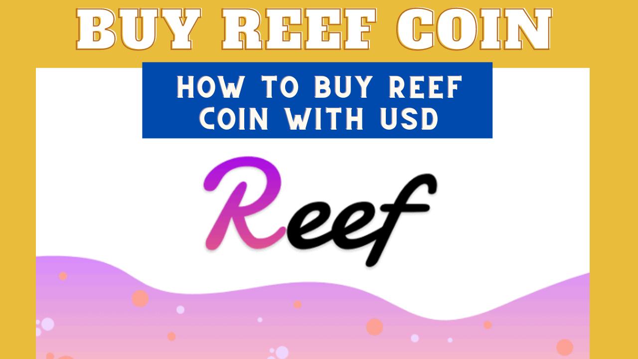 How to buy Reef Token
