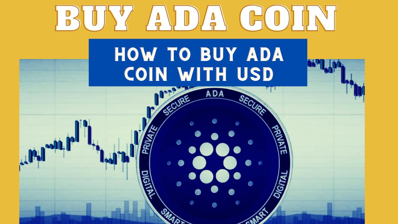 how to buy ada coin or cadano coin