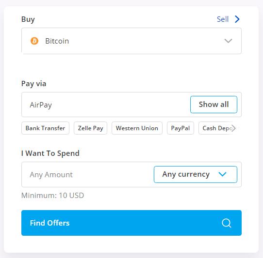 buy btc using airpay