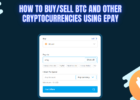 How To Buy BTC and Other Cryptocurrencies