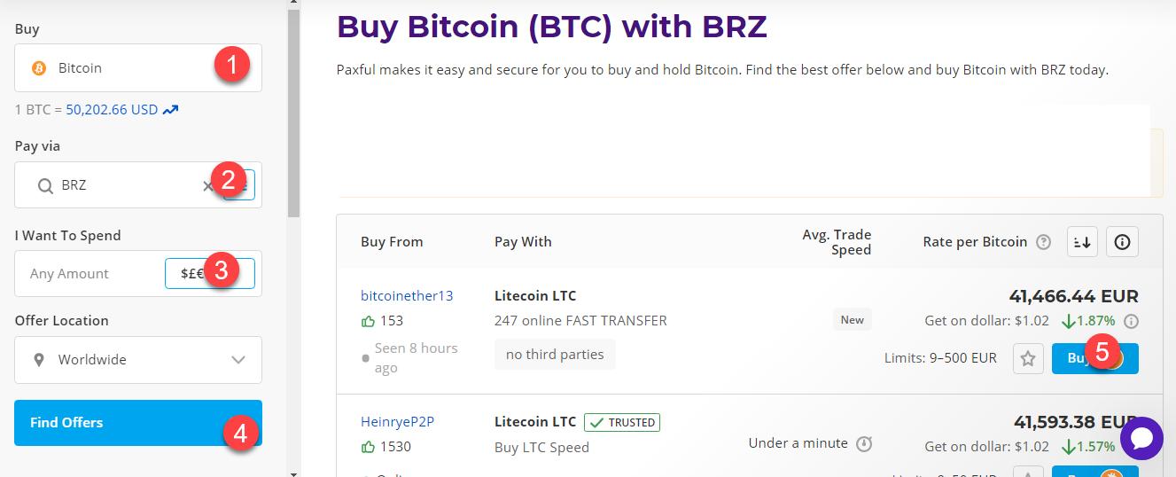 buy btc with brz