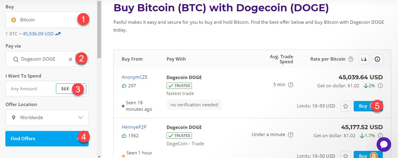 buy btc with dogecoin doge