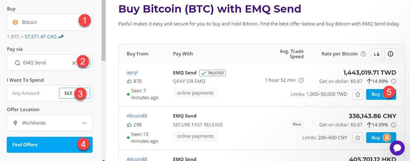buy btc with emq send